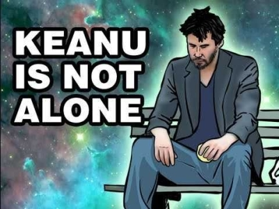 keanu is sad / sad keanu | know your meme on Keanu Reeves Meme Generator